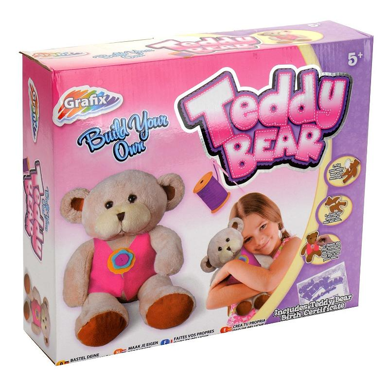 BUILD YOUR OWN TEDDY BEAR - PINK
