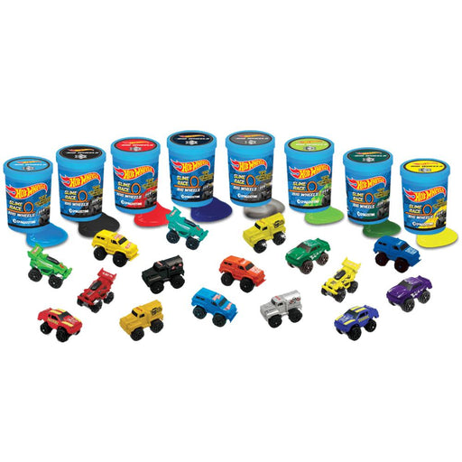 HOT WHEELS BIG WHEELS RACE SLIME & CAR TUB