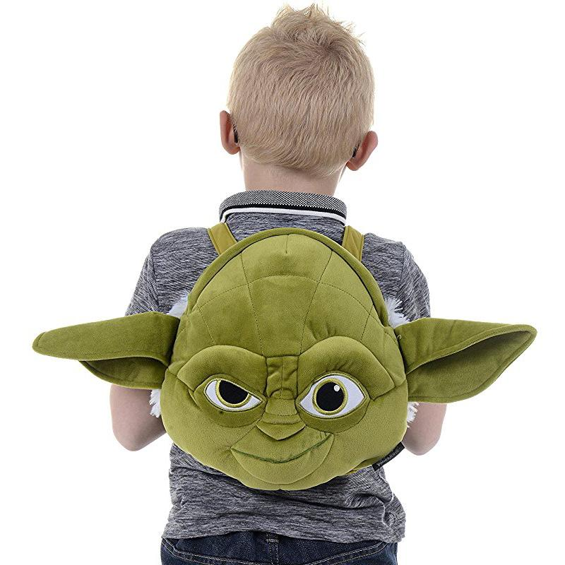 STAR WARS YODA SOFT PLUSH JUNIOR BACKPACK