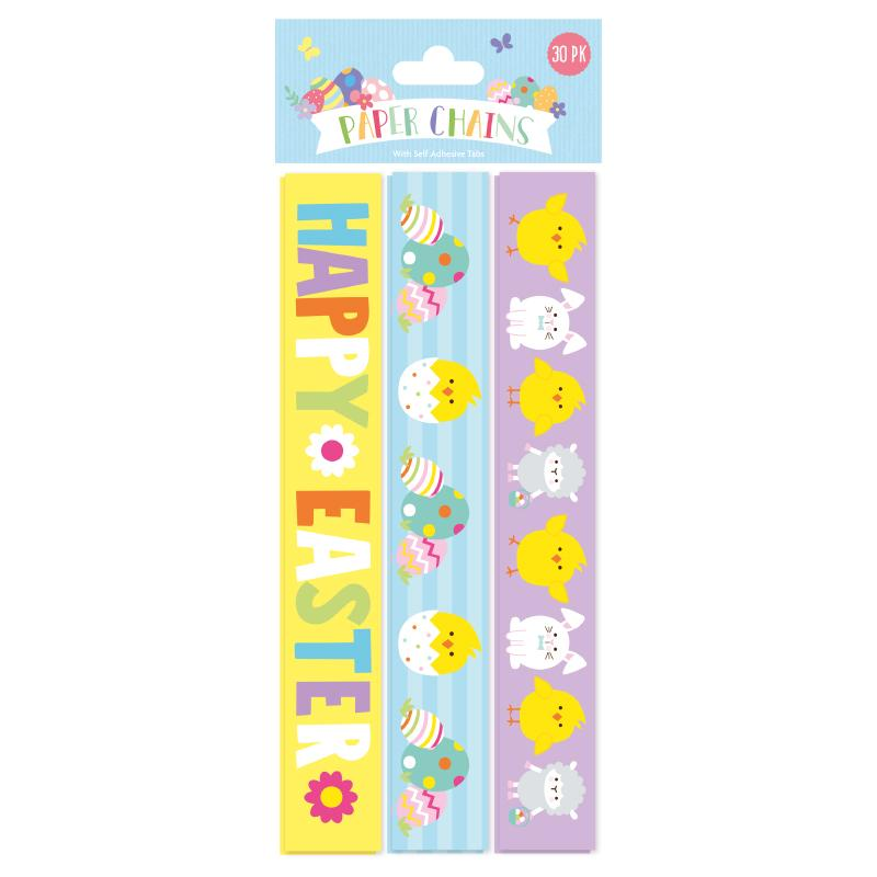 EASTER PAPER CHAINS 30 PACK