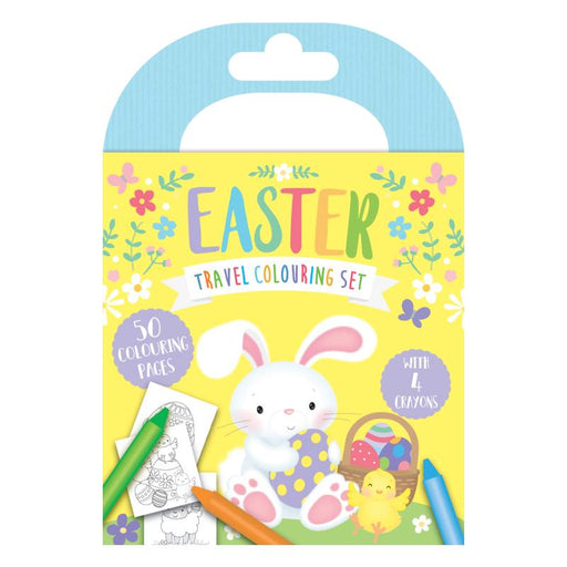 EASTER TRAVEL COLOURING SET