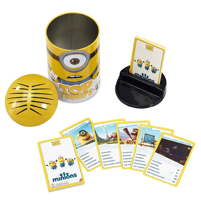 DESPICABLE ME MINIONS TOP TRUMPS COLLECTOR TIN SET