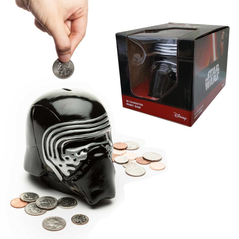 STAR WARS KYLO REN 3D MONEY BANK