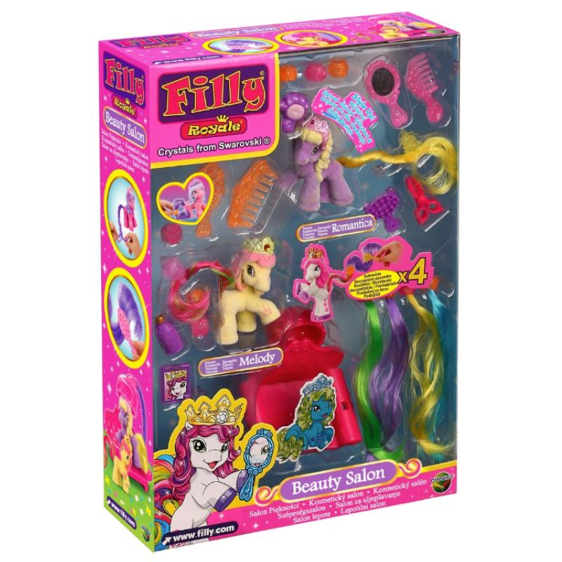 FILLY ROYALE BEAUTY SALON MINI PONY PLAY SET
