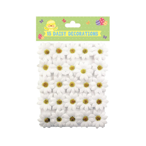 EASTER DAISY DECORATIONS 15PK