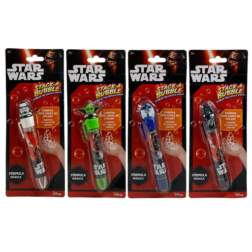 Star Wars Stack A Bubble Mini Wand