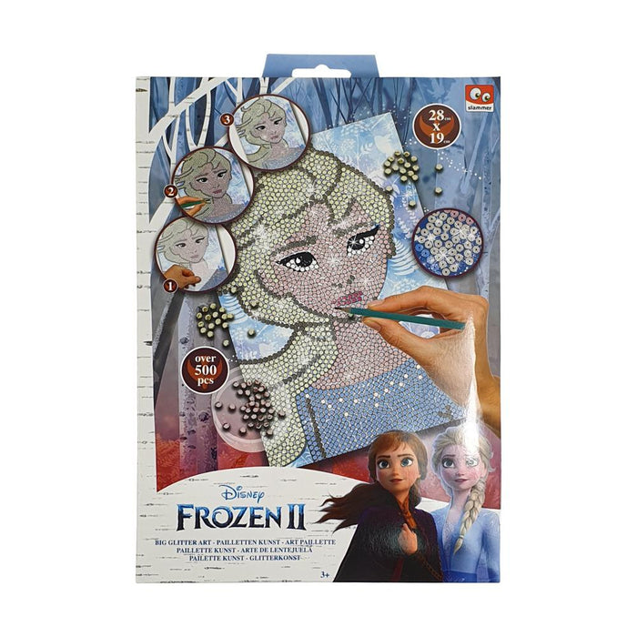 Disney Frozen 2 Big Glitter Sequin Art 500pc Set