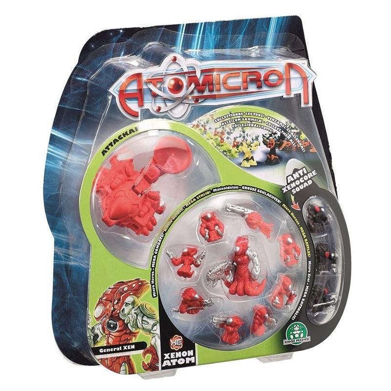 ATOMICRON MINI ACTION FIGURE BATTLE PACK