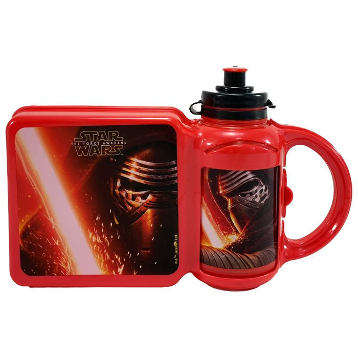 STAR WARS FORCE AWAKENS LUNCH BOX & BOTTLE SET