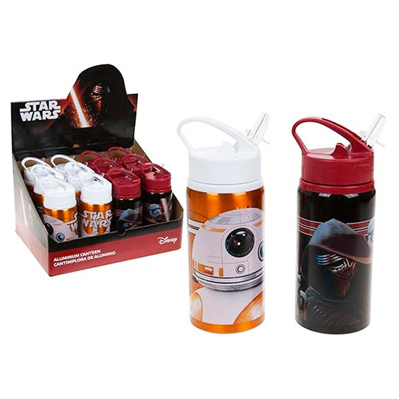 STAR WARS ALUMINIUM DELUXE CANTEEN DRINKS BOTTLE