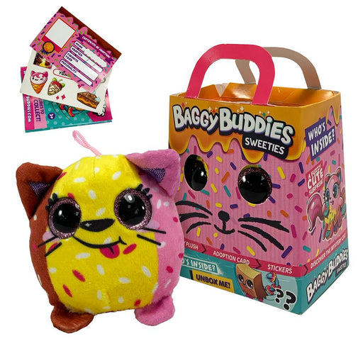 Baggy Buddies Sweeties Surprise Plush Cat