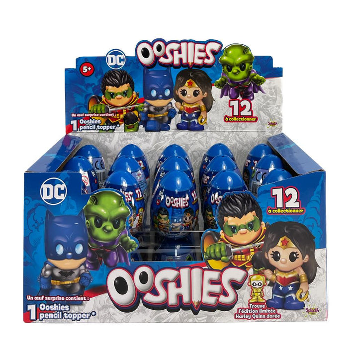Ooshies DC Comics Pencil Topper Mini Figure Surprise Egg
