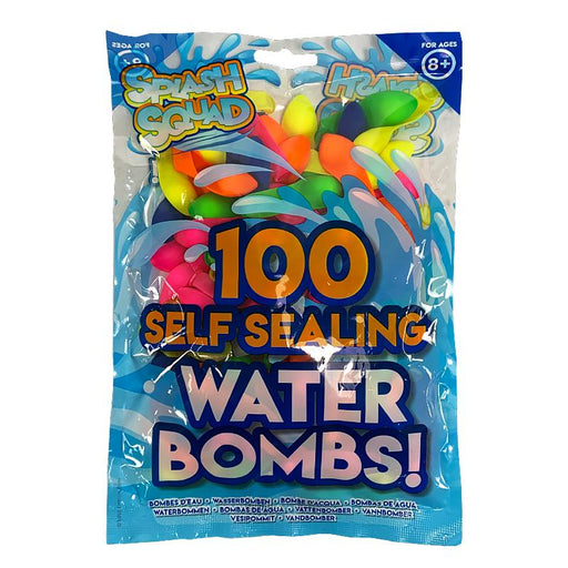 100 SELF SEALING WATER BOMBS