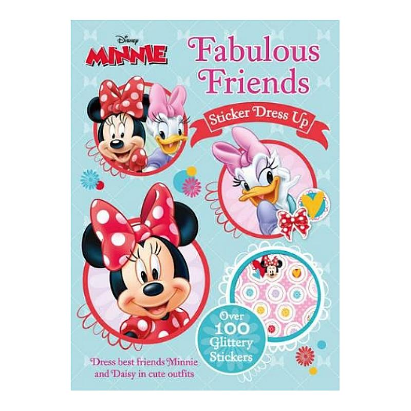 DISNEY MINNIE MOUSE STICKER DRESS UP BOOKLET