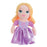 "DISNEY PRINCESS RAPUNZEL CUTE 8"" PLUSH"