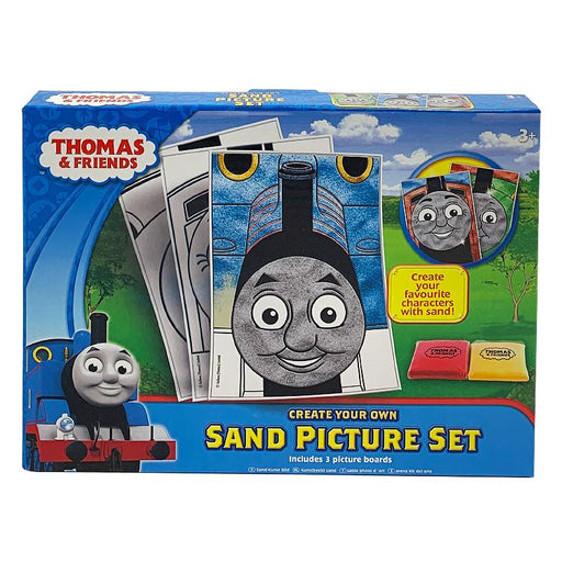 THOMAS & FRIENDS CREATE YOUR OWN SAND PICTURE SET