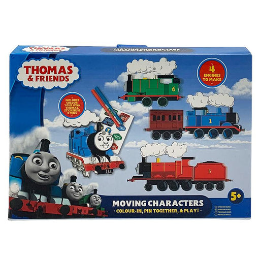 THOMAS & FRIENDS MOVING CHARACTERS COLOURING SET