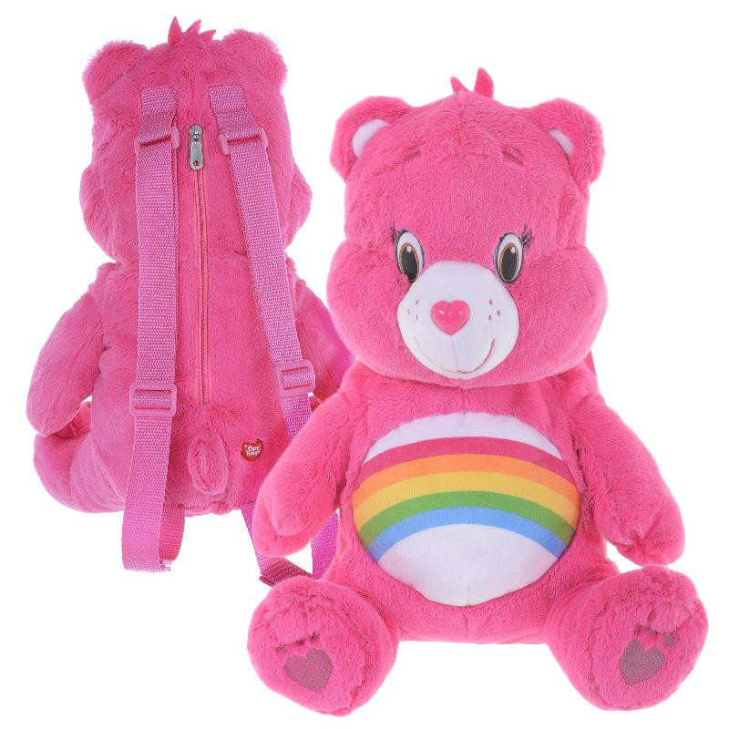CARE BEARS SOFT PLUSH JUNIOR BACKPACK