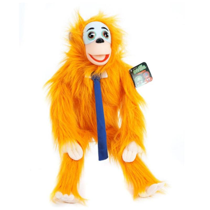 "CHUCKLES MONKEY 18"" SOFT PLUSH TOY"