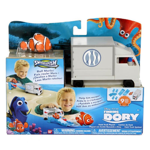 FINDING DORY SWIGGLEFISH HANK TRUCK PLAY SET