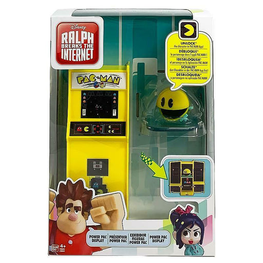 RALPH BREAKS THE INTERNET POWER PAC DISPLAY PAC-MAN PLAY SET