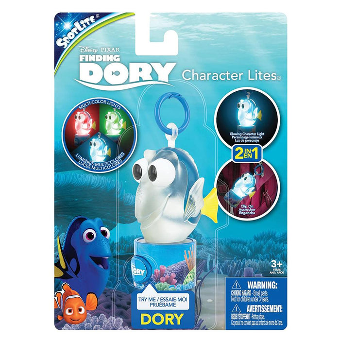 Finding Dory 2 in 1 Multi Colour Character Light