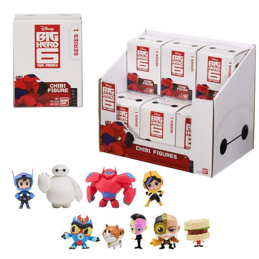 BIG HERO 6 MINI CHIBI FIGURE BLIND BOX