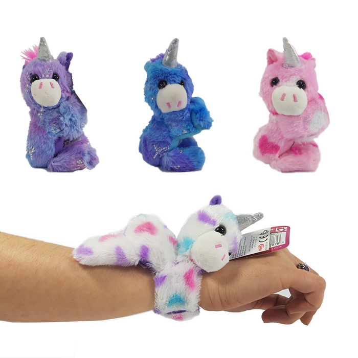 MINI HUGGLERS UNICORN PLUSH WRIST HUGGERS