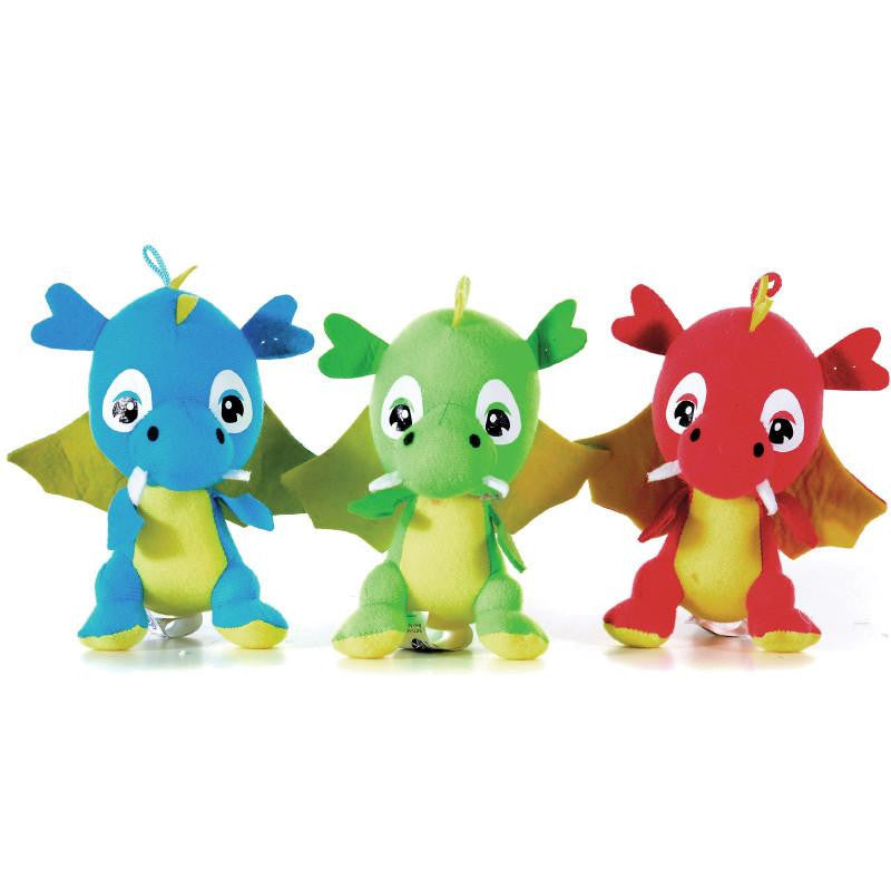 "DRAGON 5"" SOFT PLUSH TOY"