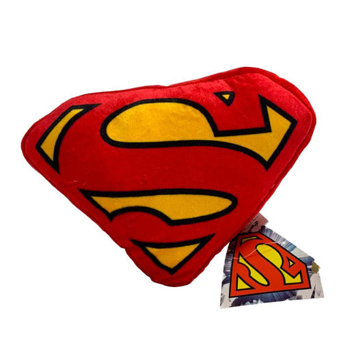 DC SUPERMAN MINI SYMBOL 22CM PLUSH CUSHION