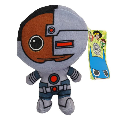"DC CUTIES CYBORG 6"" SOFT PLUSH TOY"