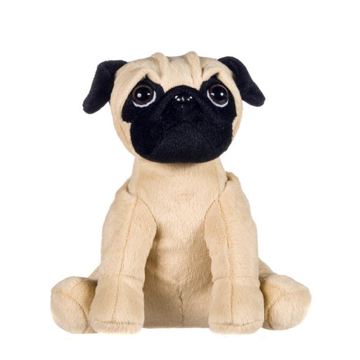 "PUG 6"" SOFT PLUSH TOY"