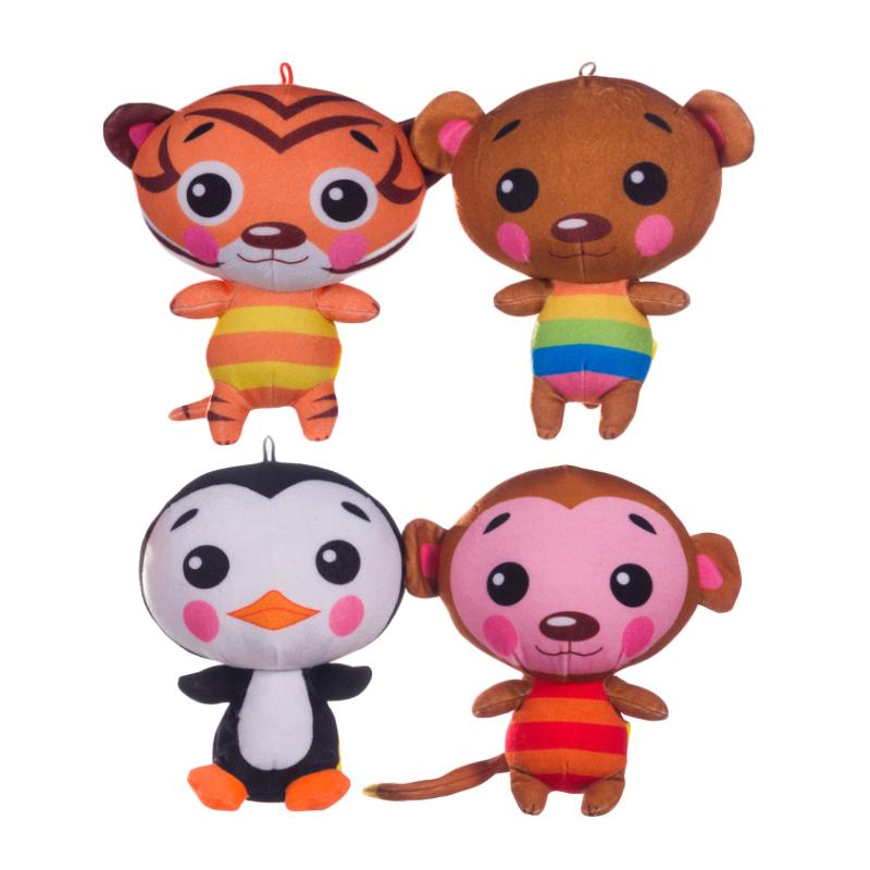 "BASHFUL BUNCH 5"" ANIMAL SOFT PLUSH TOY"