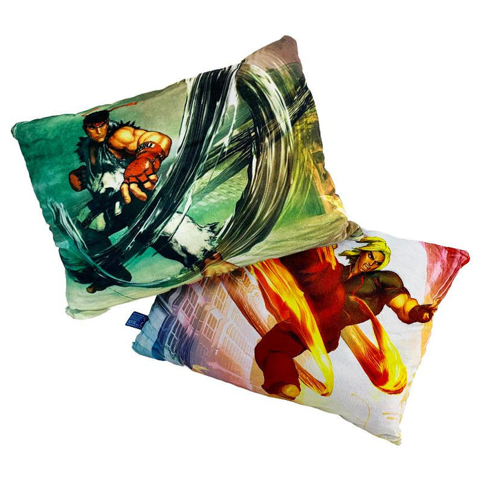 STREET FIGHTER KEN/RYU DOUBLE SIDED 35CM CUSHION