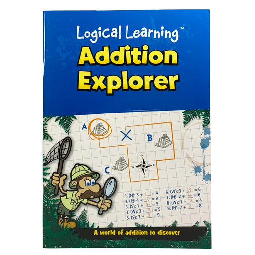 LOGICAL LEARNING ADDITION EXPLORER ACTIVITY BOOK