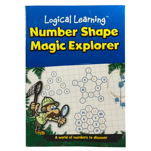 LOGICAL LEARNING NUMBER SHAPE MAGIC EXPLORER ACTIVITY BOOK