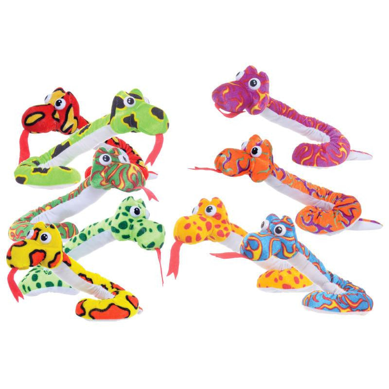 "SNAKE 10"" SOFT PLUSH TOY"