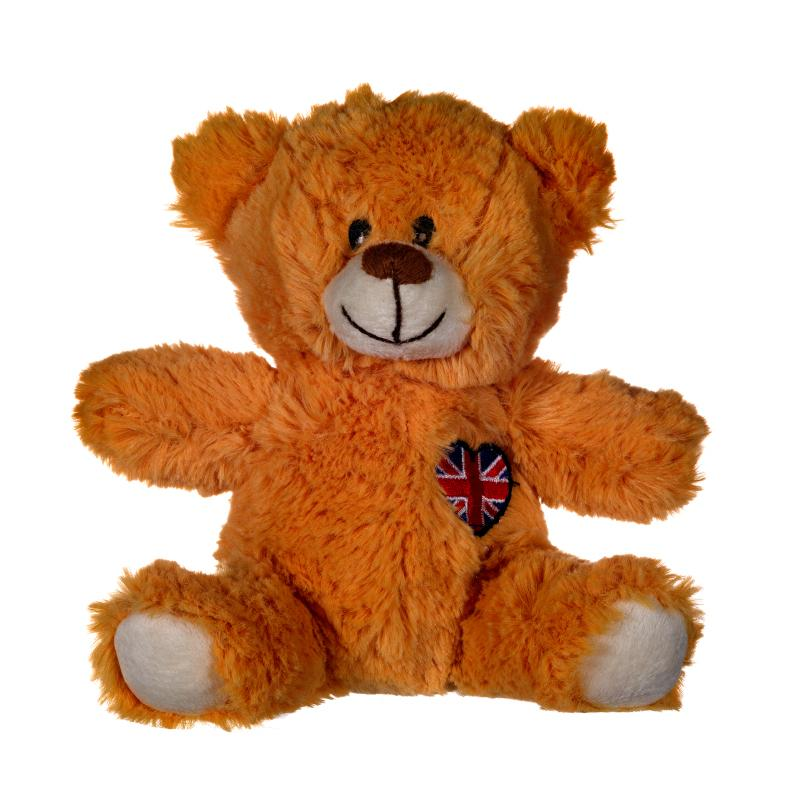 "UNION JACK 6"" TEDDY BEAR PLUSH TOY"