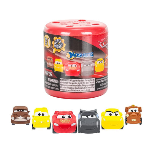 MASH'EMS DISNEY CARS 3 SQUISHY MINI FIGURE CAPSULE