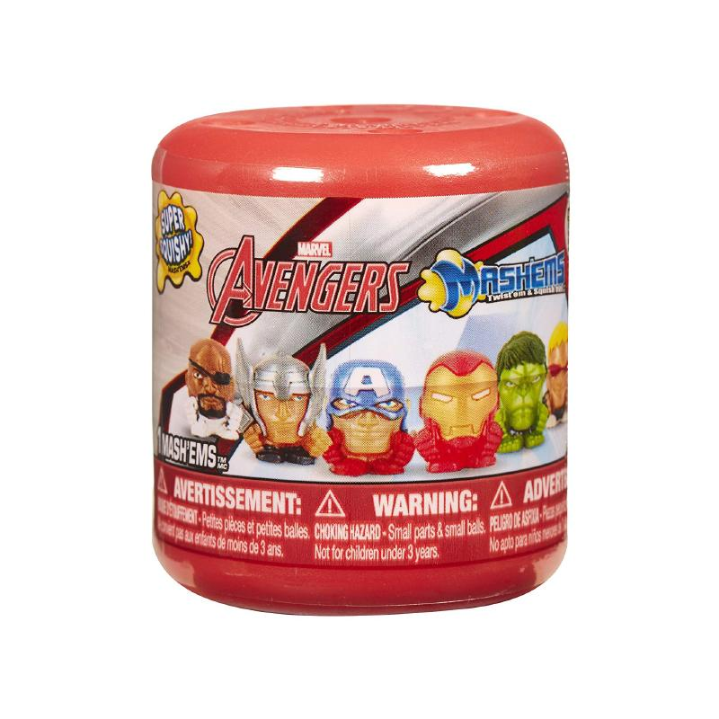 MASH'EMS MARVEL AVENGERS SUPER SQUISHY MINI FIGURE CAPSULE