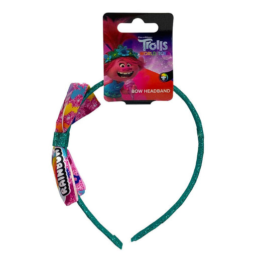 TROLLS WORLD TOUR BOW HEADBAND