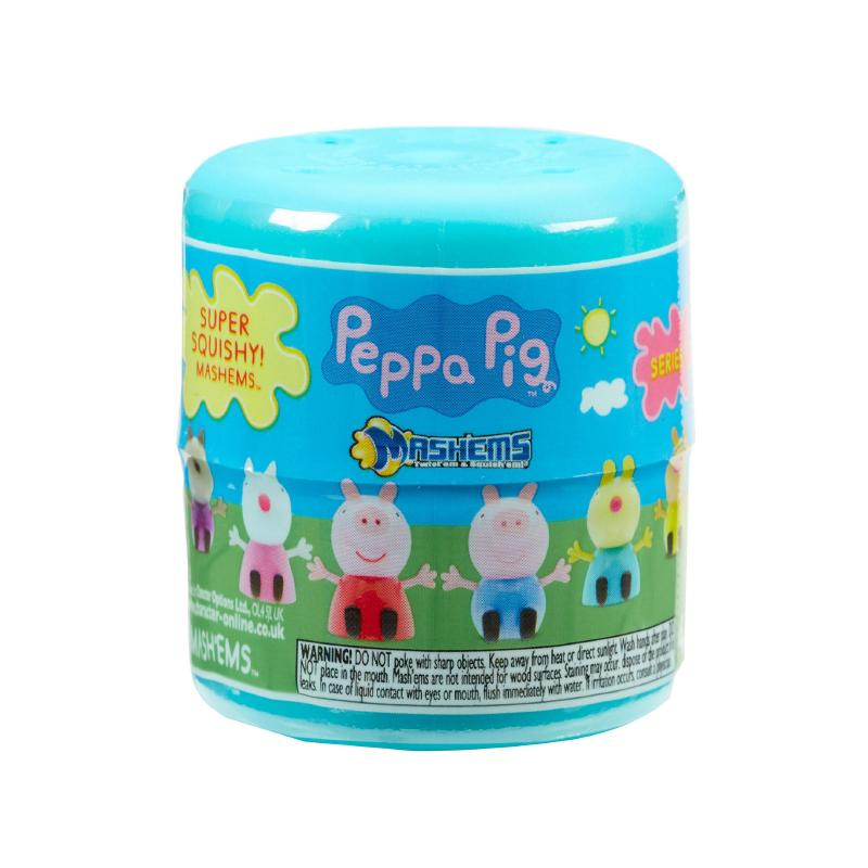 MASH'EMS PEPPA PIG SUPER SQUISHY MINI FIGURE CAPSULE