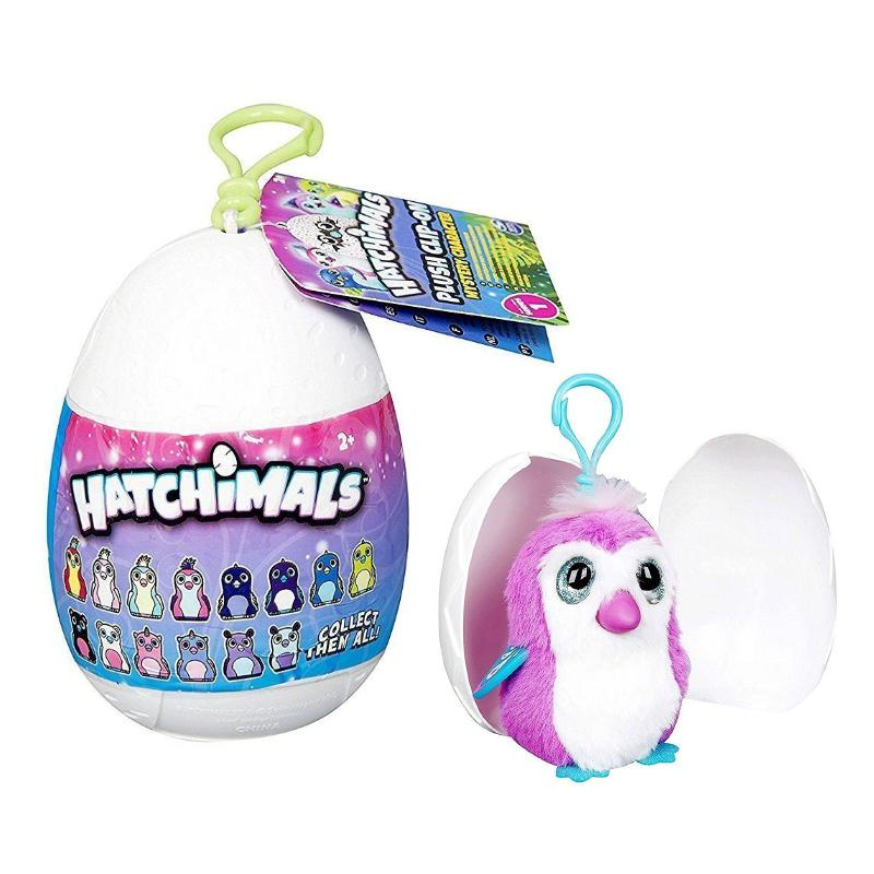 HATCHIMALS MYSTERY MINIS MINI PLUSH CLIP ON