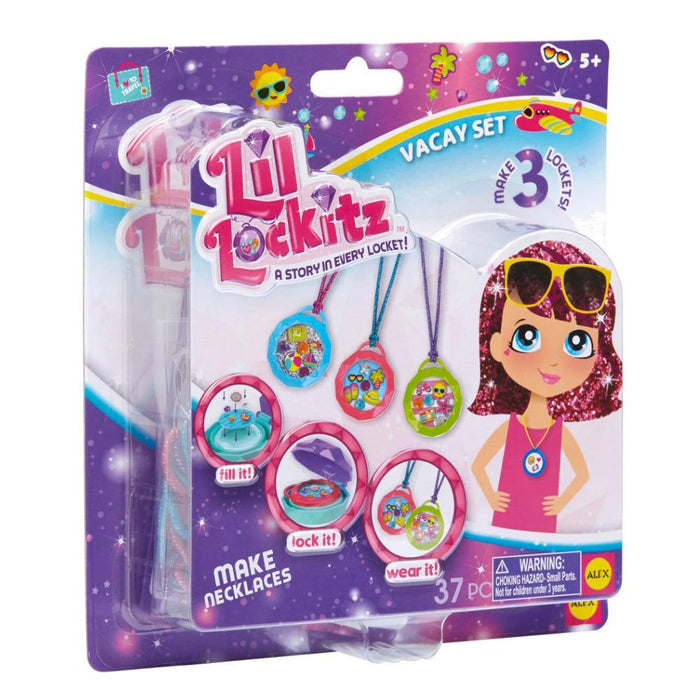 Lil Lockitz Vacay Locket Making Set