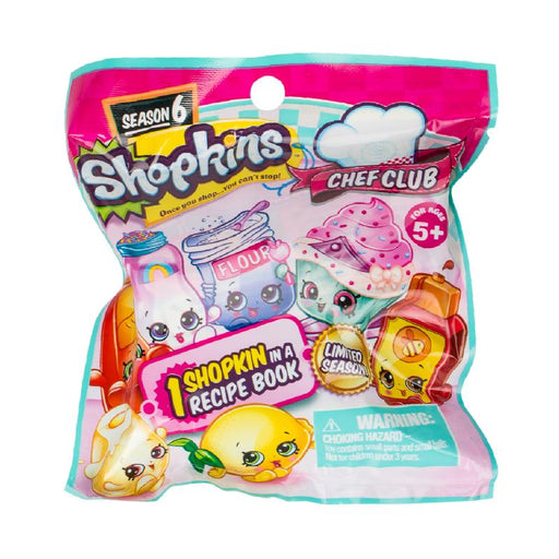 SHOPKINS CHEF CLUB MINI FIGURE BLIND BAG