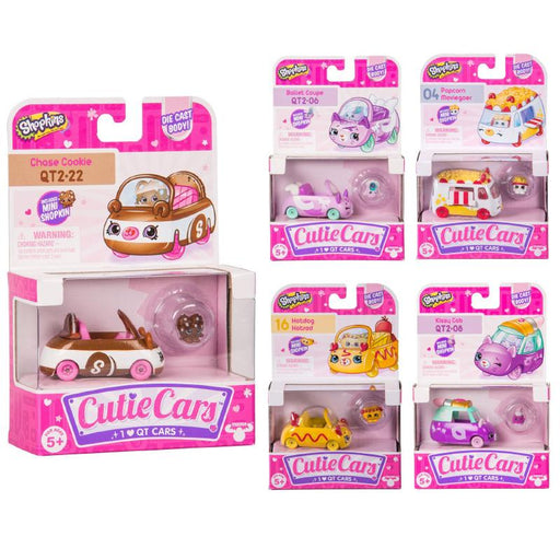 SHOPKINS CUTIE CARS FIGURE & VEHICLE