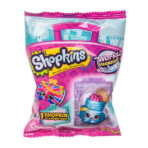 SHOPKINS WORLD VACATION MINI FIGURE BLIND BAG