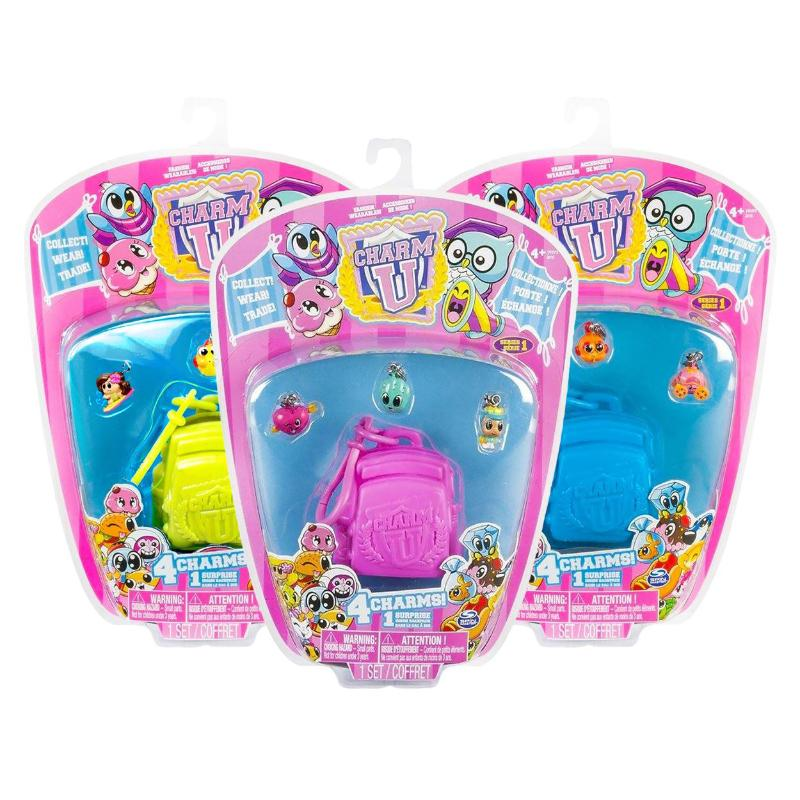 CHARM U COLLECTIBLE 4PK CHARM SET