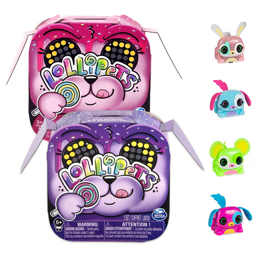 ZOOMER LOLLIPETS INTERACTIVE CUTE PET TOY
