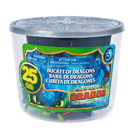 How To Train Your Dragon Bucket Of Dragons 25pc Set